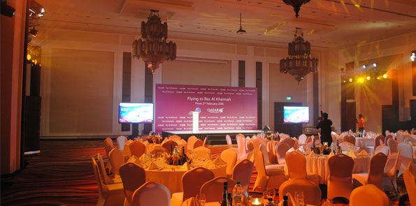 Qatar Airways Media Event