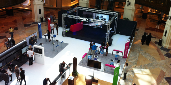Sony - Mall Promotions