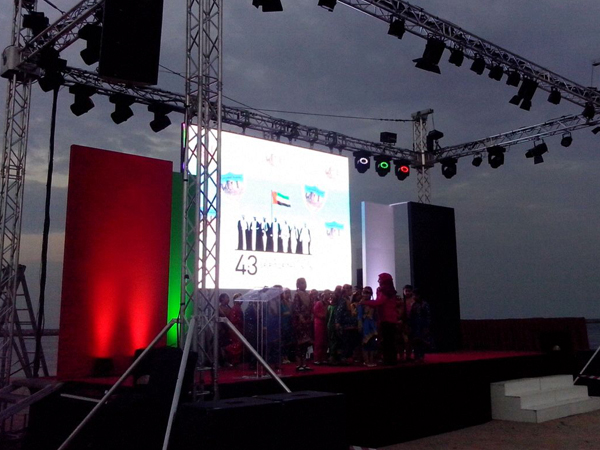 Cultural Events & Festivals, National Day AV Hire, New Year Eve Events Supply Dubai